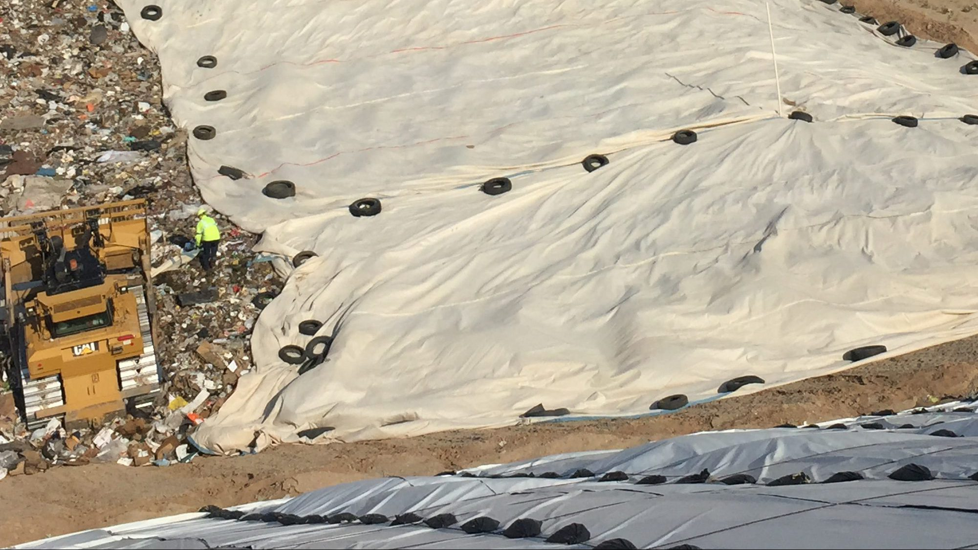 EPA Approved Landfill Tarps and Daily Cover