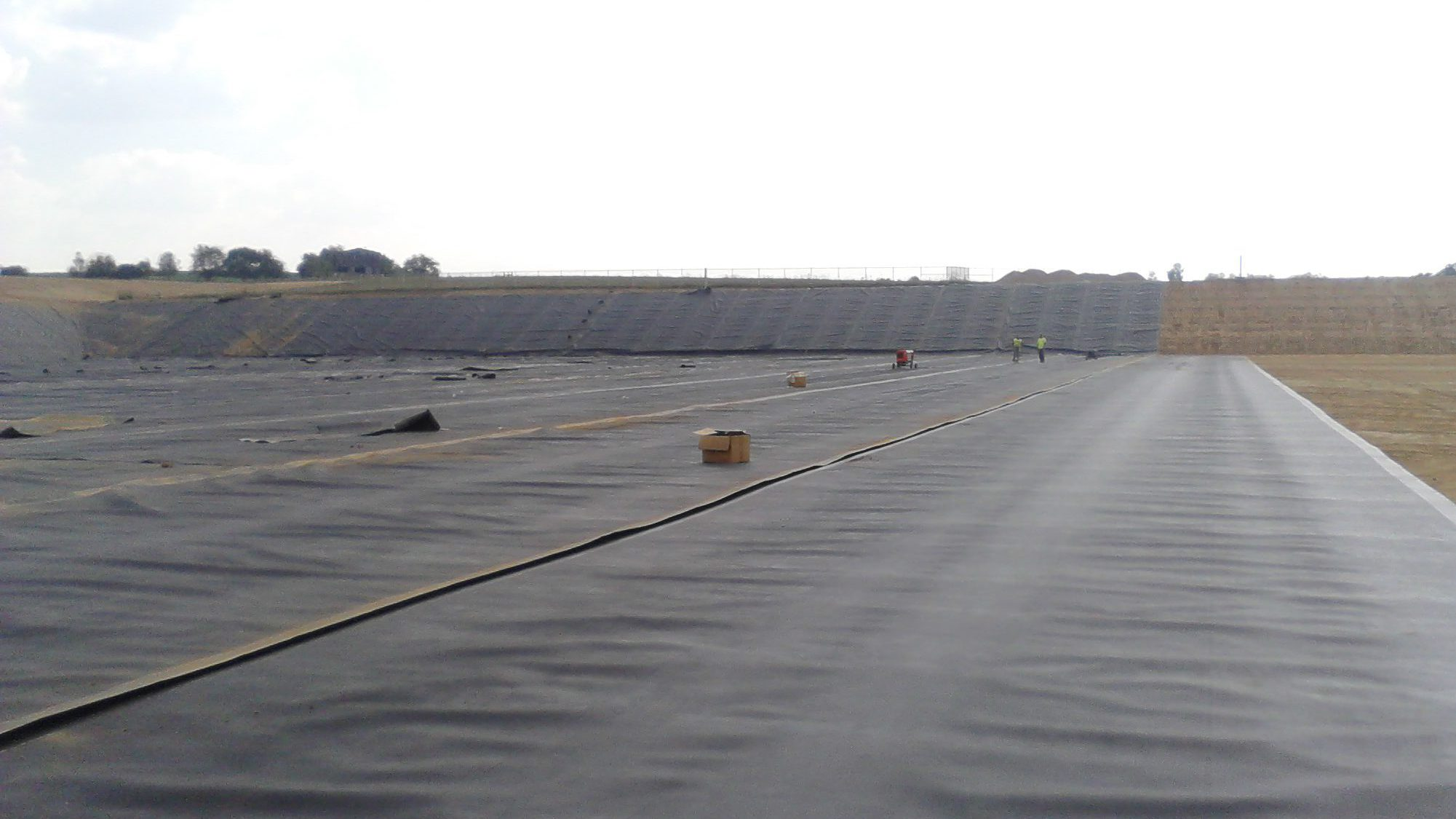 Resilient Waste Water Management Geomembrane